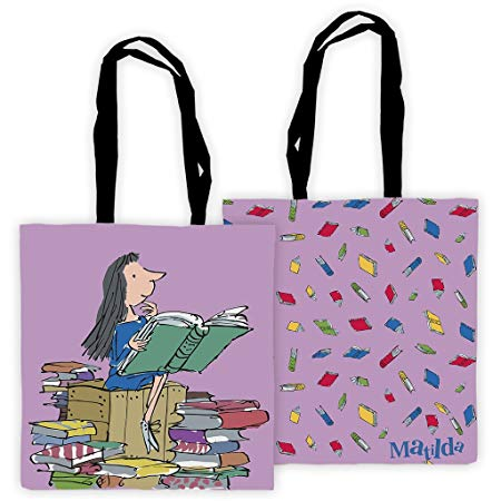 Tote Bag: Roald Dahl, Matilda Reading