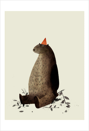 Print: Jon Klassen- I Want My Hat Back, Pg 27