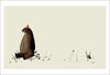 Print: Jon Klassen- I Want My Hat Back, Pg 31-32