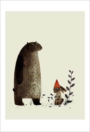 Print: Jon Klassen- I Want My Hat Back, Pg 7