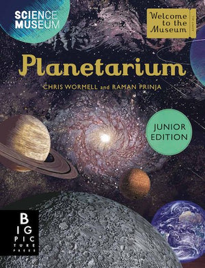 Planetarium (Junior Edition) by Raman Prinja, illustrated by Chris Wormell