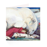 Jackie Morris: Polar Bear Cards (Pack of 5 cards with envelopes)