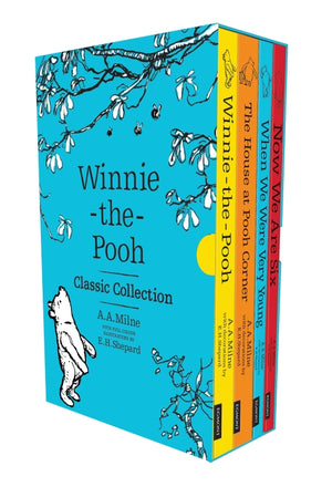 A.A. Milne: Winnie the Pooh Classic Collection Slipcase, illustrated by E.H. Shepard