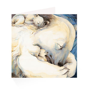 Jackie Morris: The Ice Bear Postcards (Pack of 10 with envelopes)