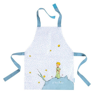 The Little Prince-PVC Coated Cotton Apron With Stars
