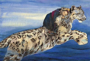Jackie Morris: The Snow Leopard Postcards (Pack of 10 with envelopes)