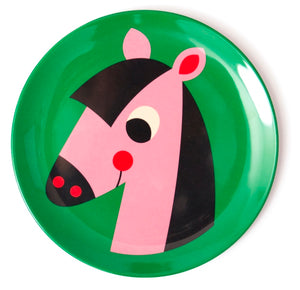 Animal Baby Plate by Ingela Arrhenius