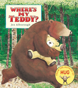 'Where's my Teddy' by Jez Alborough (Board Book)