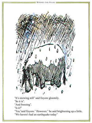It's Snowing Still Eeyore