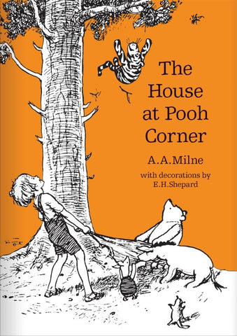 A.A. Milne: The House at Pooh Corner, illustrated by E.H.Shepard (hardback)