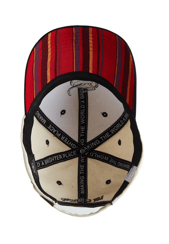 NEW* Safari Cap - Red Kikoy Peak