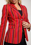 Red Striped Mara Jacket