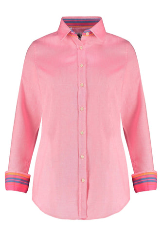 Kikoy Shirt - Pink Ladies Shirts Koy Clothing