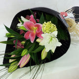 Stunning White or Pink Oriental Lilies