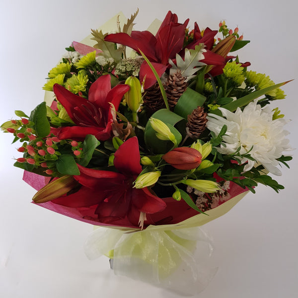 Florist Choice: Christmas Bouquet or Waterbox