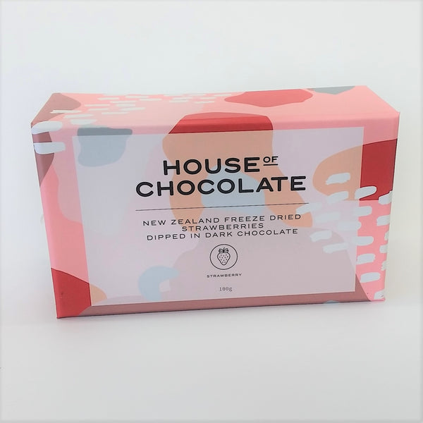 House of Chocolates NZ freeze dried strawberries