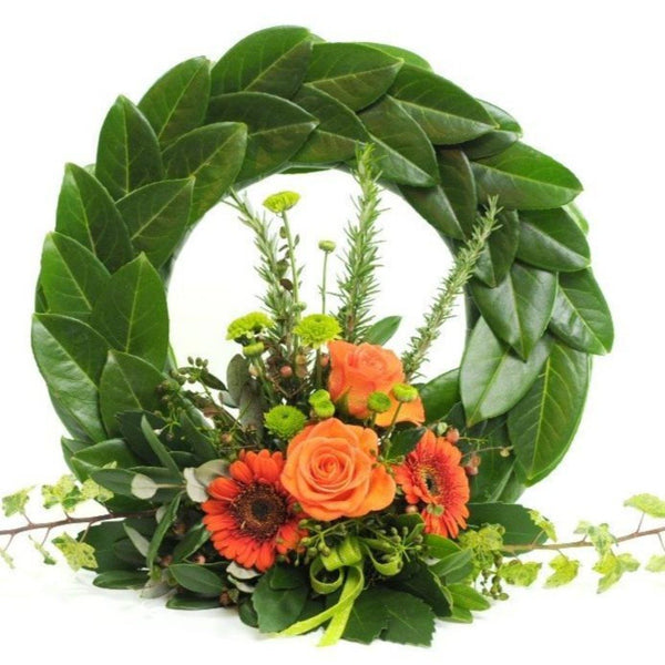 Orange Toned ANZAC Memorial Wreath