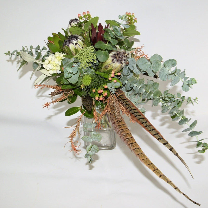 Bespoke Feathered Bouquet