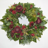 Red Toned Formal Wreath