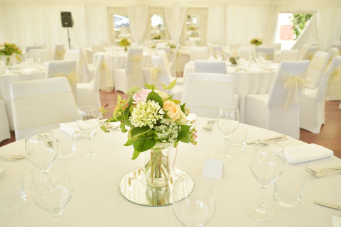 Bridal & Guest Table Arrangements