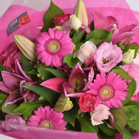 Florist Choice: Pink Bouquet or Waterbox