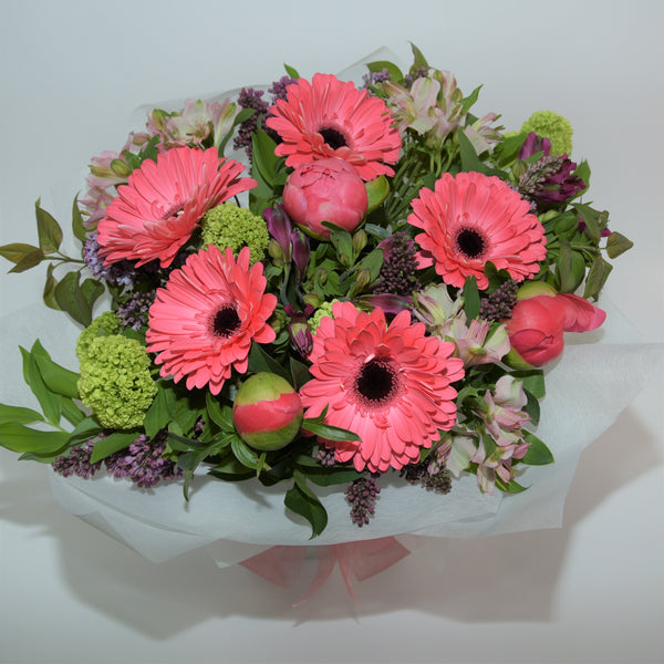 Gerbera and Peony Water Box