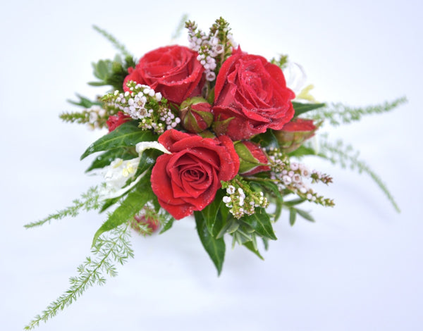 Florist Choice: Red Rose Corsage