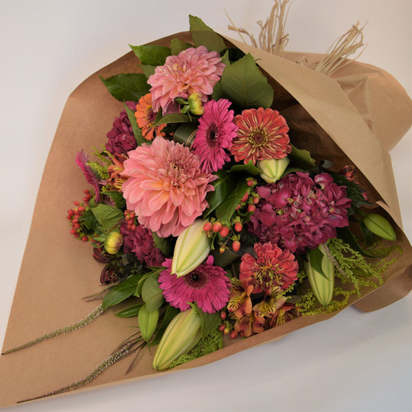 Florist Choice: Summer Loving Bouquet or Waterbox