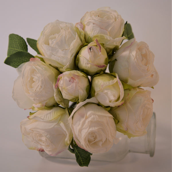 Dried Look Rose Posy
