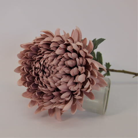 Dusty Pink Chrysanthemum Stems