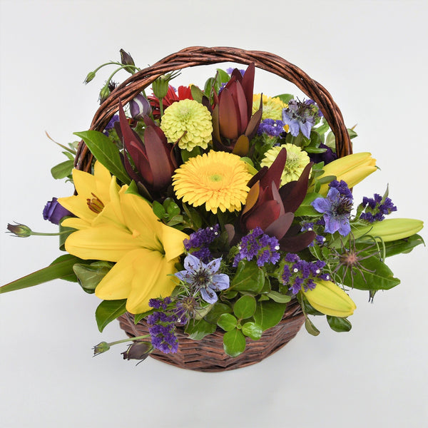 Bold and Beautiful Basket