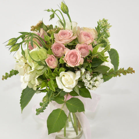 Florist choice: Small posy in Vase