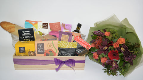 Florist Choice: Deluxe Treat Gift Basket