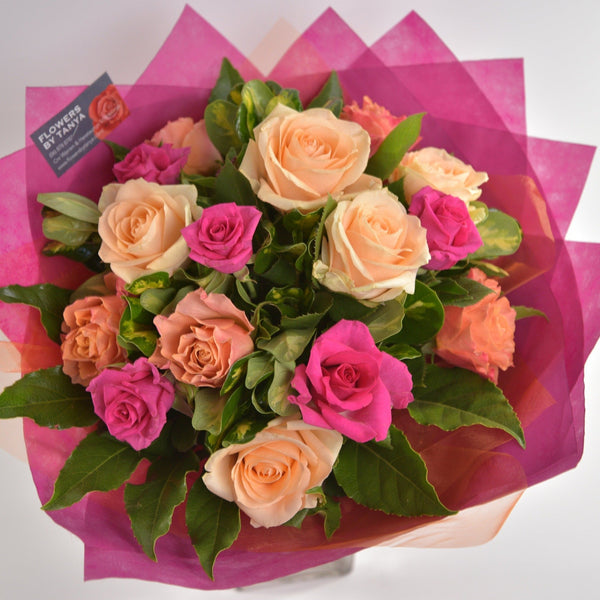 Florist Choice: Coloured Rose Bouquet or Waterbox