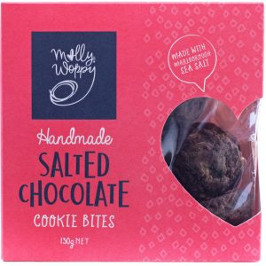 Salted Chocolate Cookie Bites 130g