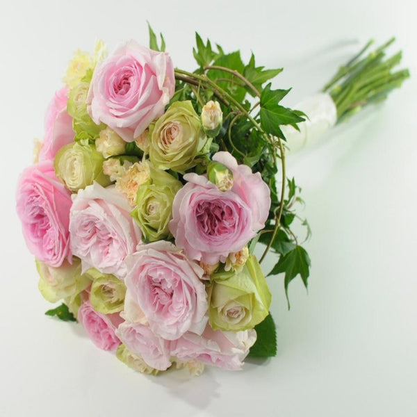Pink Rose Hand-Tied Posy