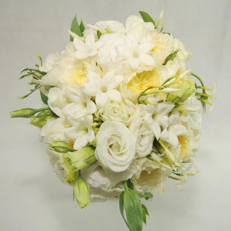 White & Cream Hand-Tied Posy