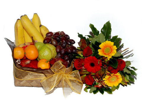 Fruit Box and a Posy