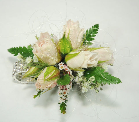 Soft Pink Corsages