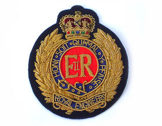 ROYAL ENGINEERS BLAZER BADGES