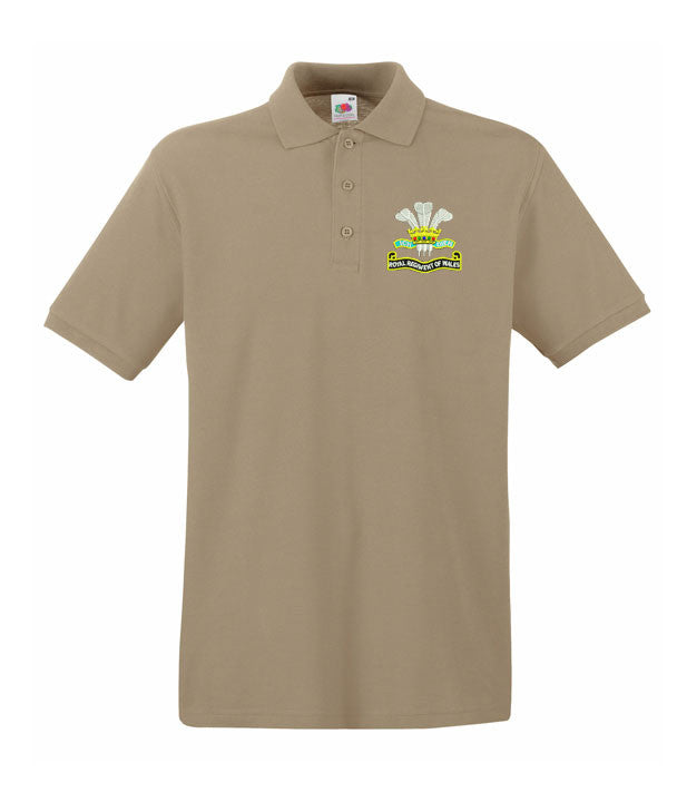 Royal Regiment Of Wales Polo Shirts