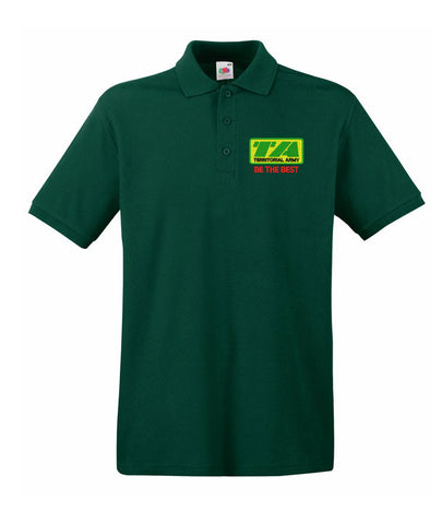 Territorial Army Regiment polo shirts