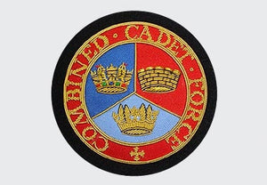Combined Cadet Forces Bullion Blazer Wire Badge