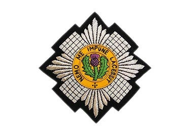 Scots Guards Bullion Wire Blazer Badge