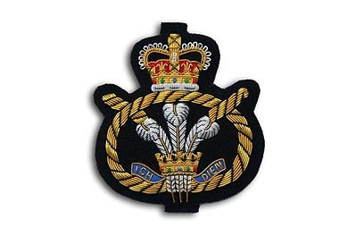 Staffordshire Regiment Bullion Wire Blazer Badge