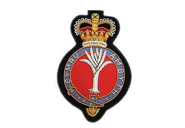 Welsh Guards Bullion Wire Blazer Badge