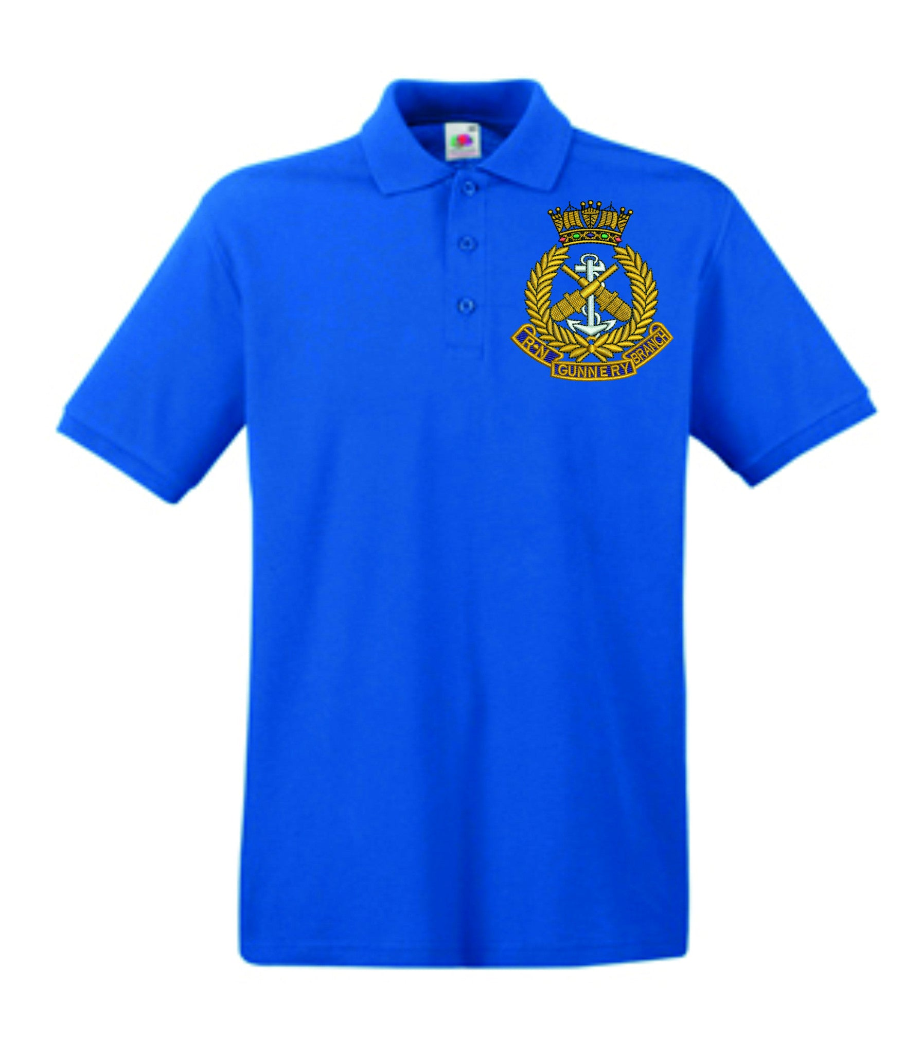 Royal Navy Gunnery Branch Polo Shirt