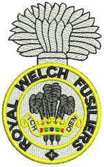 Royal Welch Fusiliers  Fleece