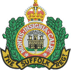 Suffolk Regiment T Shirts