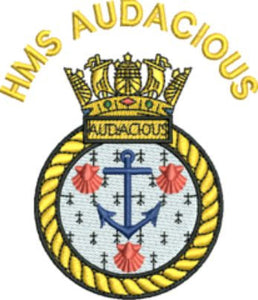 HMS Audacious Fleece